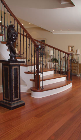Yerke Floors Spiral Staircase And Floor